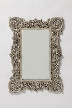 Chantilly Vines Mirror #anthropologie    for the sofreh