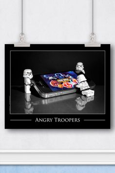 Angry Birds™ LEGO® Art: Star Wars™ Stormtroopers at Play