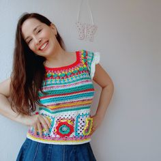 Crochet Top, Youtube, Tops, Women, Fashion, Moda, Women's, La Mode, Shell Tops
