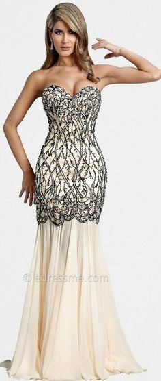 Black Mermaid Prom Dress Sweetheart Beaded Lace Applique See-Through ...