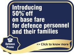 50% off for defence personal and their families on flights http://couponsgrabber.in/coupon/50-base-fare-defence-personnel-families/