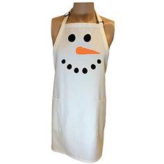 Snowman Face Apron with 2 patch pockets - One Size ZeroGravitee http://www.amazon.com/dp/B00Q7KE72E/ref=cm_sw_r_pi_dp_x.tMwb1H2M4X1