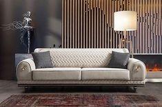 Photo by BayraktarMobilya / Zeytinburnu on February Image may contain: people sitting and indoor Furniture Upholstery, Sofa Furniture, Sofa Chair, Online Furniture, Furniture Design, Luxury Bedroom Design, Bedroom Bed Design, Luxury Sofa, Interior Decorating