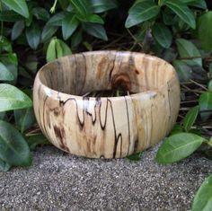 Handmade Wood Bangle Bracelet  Ecofriendly by ARemarkYouMade, $29.95