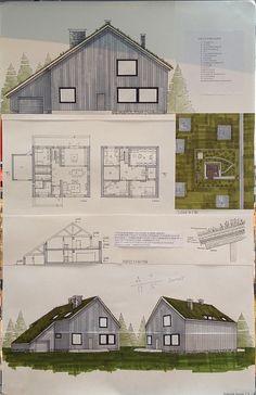 Индивидуальный жилой дом. Клаузура 2015г.