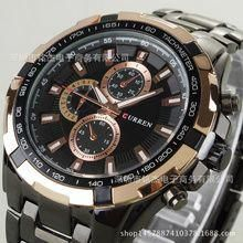 Men's Watches Watches Fanala Mens Watches Luxury Military Fashion Quartz Sport Wristwatches Men Stainless Steel Business Watch Casual Reloj 58#