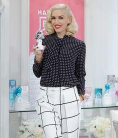 Gwen Stefani Print Blouse