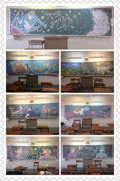Chalkboard art taken to the next level