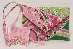 Vera Bradley Luggage Tag Pinwheel Pink Floral NWT SB0320 #VeraBradley