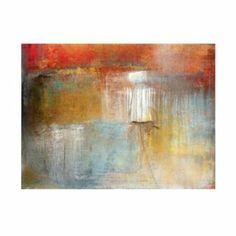 "Mineral Abstract Art | Ballard Designs $329 Overall: 36""H X 48""W X 1 1/2""D Construction: Cotton canvas on a wood frame."