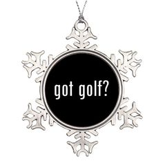 Personalised Christmas Tree Decoration Santa Snowflake Ornaments Got Golf Country Club * This is an Amazon Affiliate link. Details can be found by clicking on the image.
