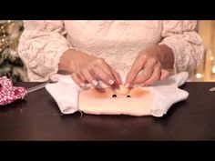 DIY Forro  para sillas Navideño - Omaira Tv - YouTube