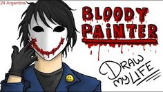 BLOODY PAINTER :) | Draw My Life + SORTEO TikTak Draw