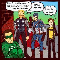 Triste verdade para o Lanterna Verde