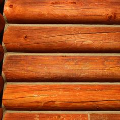 How to Clean & Finish Log Siding