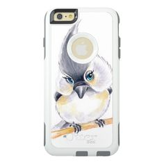 Shop Cute Birdie OtterBox Samsung Galaxy Case created by EveyArtStore. Personalize it with photos & text or purchase as is! Phone Cases Iphone6, Iphone 6 Cases, Samsung Galaxy Cases, Art Case, 6s Plus Case, Cell Phone Holder, Cute, Iphone 6 Skins, Kawaii