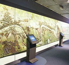Stand-alone touch screens, Redman Design