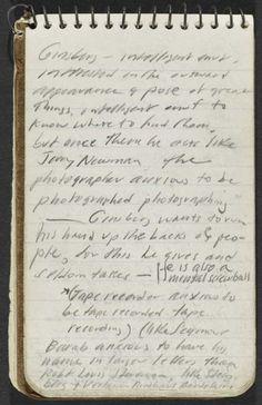 thepenguinpress:    Jack Kerouac's journal.