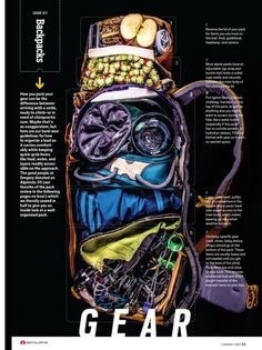 How to pack your climbing gear