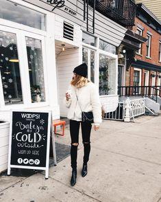 """3,497 Likes, 17 Comments - Viktoria Dahlberg (@viktoria.dahlberg) on Instagram: """"Morning mood ☕️ #coffee #ootd #nyc"""""""