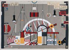 """Sergei Eisenstein. Set design for the play """"Heartbreak House"""" by George Bernard Shawn, 1922"""
