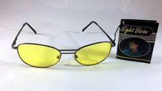 aa67323d3590e5 Nachtsichtbrille Kontrastbrille Night Vision Nachtfahrbrille Nachtbrille  +Tasche
