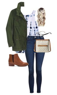 """""""Untitled #80"""" by chloe-madison-barnes on Polyvore featuring Barcode Apparel, Topshop, J.Crew, Seychelles, Michael Kors and Lacoste"""