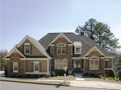 New American House Plan with 4138 Square Feet and 4 Bedrooms from ...