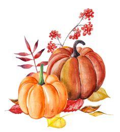 November Wallpaper, Fall Wallpaper, Autumn Painting, Autumn Art, Halloween Drawings, Halloween Art, Autumn Illustration, Watercolor Illustration, Still Life