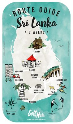 Sri Lanka Route Guide: a 3-week travel itinerary