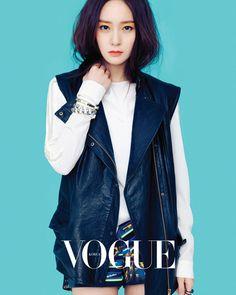Krystal Jung ★ f(x) - Vogue Magazine Kpop Fashion, Asian Fashion, Unique Fashion, Girl Fashion, Krystal Fx, Jessica & Krystal, Vogue Korea, Krystal Jung Fashion, Little Girl Lost