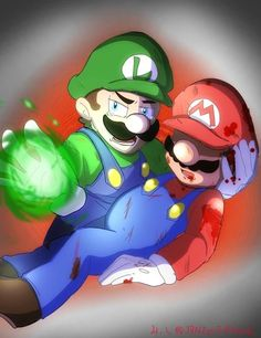 Mario Y Luigi, King Boo, Super Mario Art, Bad Timing, Disney Cartoons, Animation, Art Reference, Fan Art, Videogames