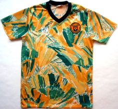Australia home 1991. Early 90s certainly was the time for garish patterns