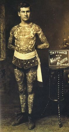 Painless Jack Tryon was world famous for his tattoos. #InkedMagazine #tattooed…