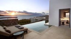 Kalesma suite, Mykonos one of the new hotel openings in 2020 in Europe. The article lists 25 other beautiful boutique hotels with pool in Europe.