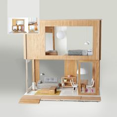IKEA Doll House   its like a miniature Ikea house! its a dolls house!