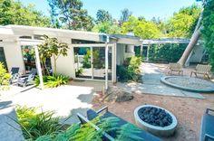 Go Inside James Marsden's Classic Midcentury Home via @domainehome