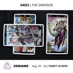 Aries Zodiac Tarot-Scopes (Eclipse Special) August 20 - 26