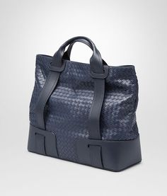 BOTTEGA VENETA PRUSSE LIGHT CALF INTRECCIATO TOTE BAG Tote Bag U rp