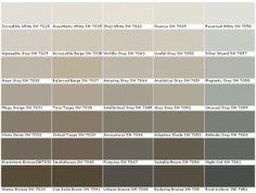 Neutral: Sherwin Williams colors I love Shoji White