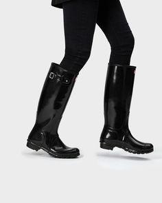 15a40da289a8 Women s original tall gloss rain boots
