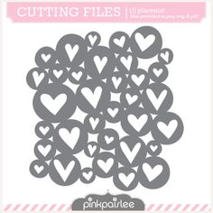 Circle Hearts Cut File from Pink Paislee! Free Svg, Digital Scrapbooking Layouts, Scrapbook Layouts, My Gems, Silhouette Files, Silhouette Studio, Stencil Templates, Frame Clipart, Silhouette Portrait