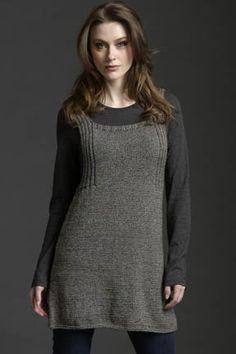 Trapeze Tunic/Dress FREE PATTERN Tahki Stacy Charles, Inc., Supplying Knitters with Fabulous Fibers and Yarn