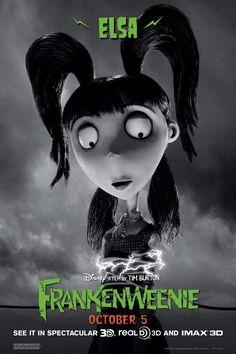 Elsa in Frankenweenie by Tim Burton 10.05.12 #frankenweenie #timburton #animation