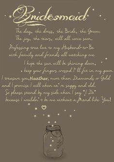 bridesmaid friendship quotes