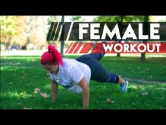 Female Calisthenics Workout for Beginners to Get Perfect Body | Workoutia