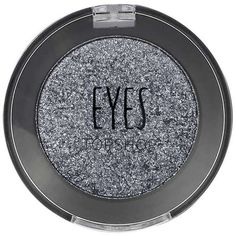 TOPSHOP Mono Eyeshadow in Hematite (€11) ❤ liked on Polyvore featuring beauty products, makeup, eye makeup, eyeshadow, beauty, gunmetal, topshop, glitter eye makeup, eye shimmer makeup and glitter eyeshadow