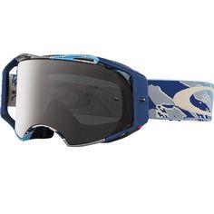 Oakley Airbrake Tomac Camo Desert w/ Grey Lens Goggles