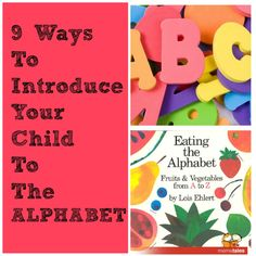 Great ways to introduce the alphabets to kids