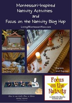 Montessori-Inspired Nativity Activities and Focus on the Nativity Blog Hop